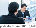 商人,商務談話,提案,會議 38502348