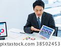 商人,商務談話,提案,會議 38502453