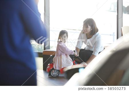 考慮汽車經銷商購買的家庭 38503273