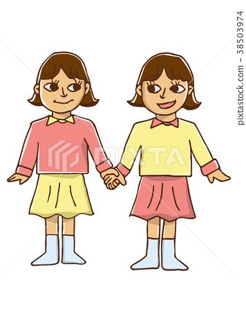 Twin sister 38503974