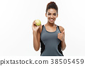 apple,american,woman 38505459