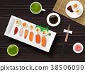 寿司 食物 食品 38506099