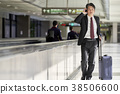 商人在機場 38506600