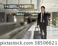 商人在機場 38506621