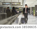 商人在機場 38506635