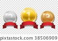 vector, medal, bronze 38506909