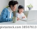 손자와 할머니 38507613