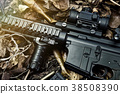 Weapons and military equipment for army. 38508390