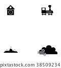 switzerland icon set 38509234