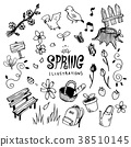 Spring Illustration pack 38510145