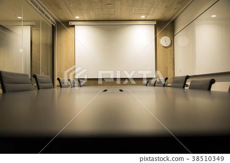 會議室圖片Web會議背景素材 38510349