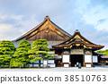 nijo castle, outer citadel palace, japan 38510763
