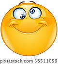 Silly eyes emoticon 38511059