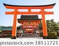 京都 伏見稲荷 鳥居 38511725