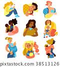 Motherhood Icons Set 38513126