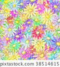 Seamless Flowers 38514615