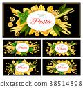vector italian pasta 38514898