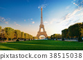 Eiffel Tower in the morning 38515038