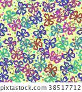 Seamless, Symbolical Butterflies 38517712