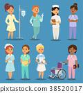 vector nurse woman 38520017