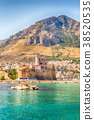 View from the sea of Castellammare del Golfo,Italy 38520535