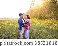 beautiful senior couple 38521818