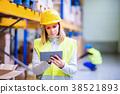 woman worker work 38521893