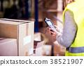 worker work warehouse 38521907