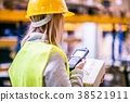 worker work warehouse 38521911