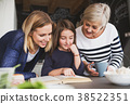 girl, mother, grandmother 38522351