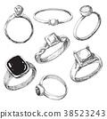 戒指 手 訂婚 38523243