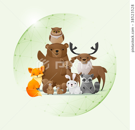Wild animal and Environment conservation concept 38523528