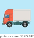 delivery, illustration, isolated 38524387