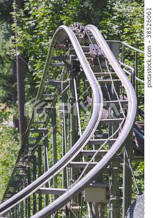 Roller Coaster Rails 38526061