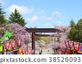 ดอกซากุระใน Kaseiyama Daijingu เมือง Koriyama จังหวัด Fukushima 38526093