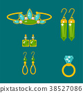 vector jewelry gold 38527086