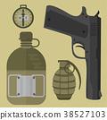 vector, gun, weapon 38527103