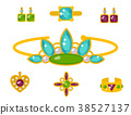 vector jewelry gold 38527137