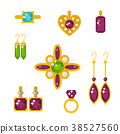 vector jewelry gold 38527560