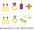 vector jewelry gold 38527634
