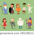 halloween, vector, costume 38528022