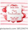 valentine, sale, happy 38529074