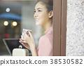 여성, 여자, 카페 38530582