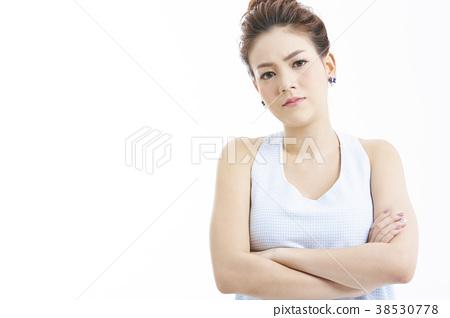 成熟的女人 一個年輕成年女性 女生 38530778