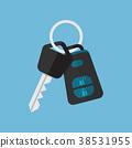car, key, alarm 38531955