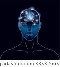 大腦 頭腦 電路 38532665