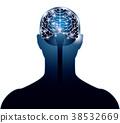 大腦 頭腦 突觸 38532669