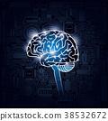 大腦 頭腦 電路 38532672