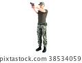 士兵 军人 枪 38534059