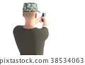 士兵 军人 枪 38534063